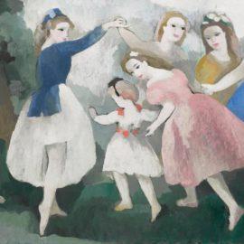 Marie Laurencin-Jeunes Filles Aux Jeux-1938