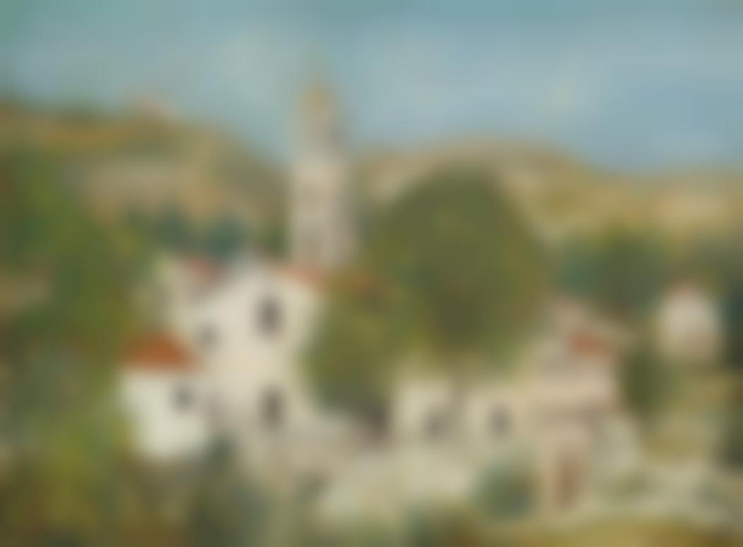 Maurice Utrillo-Le Couvent De Morosaglia (Corse)-1912