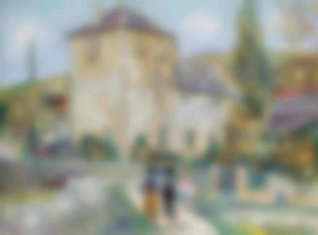 Maurice Utrillo-Chateau De Gamay (Cote-Dor)-1933