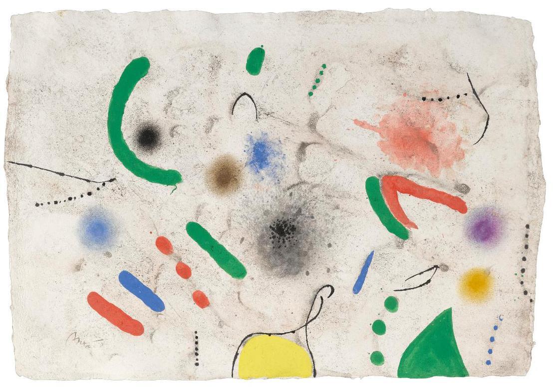 Joan Miro-Sans Titre-1970