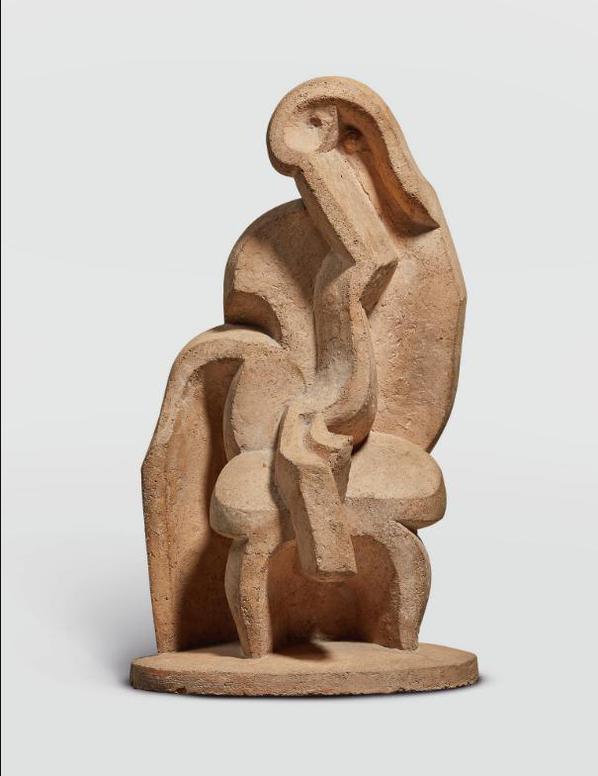 Jacques Lipchitz-Seated Bather-1923