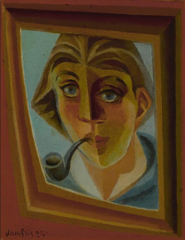 Juan Gris-Lhomme A La Pipe-1925