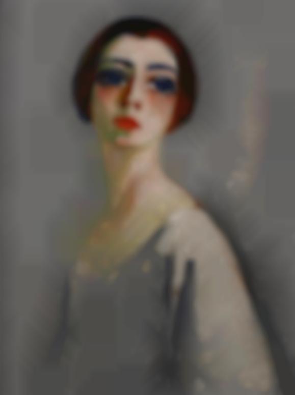Kees van Dongen-Portrait De Femme-1919