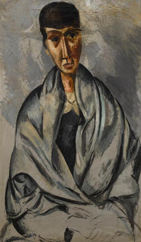 Andre Derain-Vieille Femme-1913