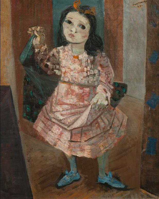 Candido Portinari - Menina-1944