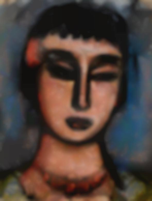Georges Rouault-Solange-1928