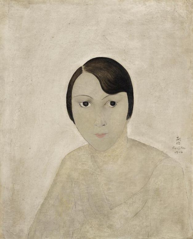 Tsuguharu Foujita-Portrait De Kiki De Montparnasse-1925