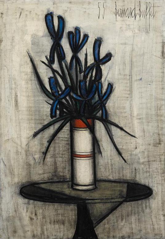 Bernard Buffet-Fleur De Lis-1955