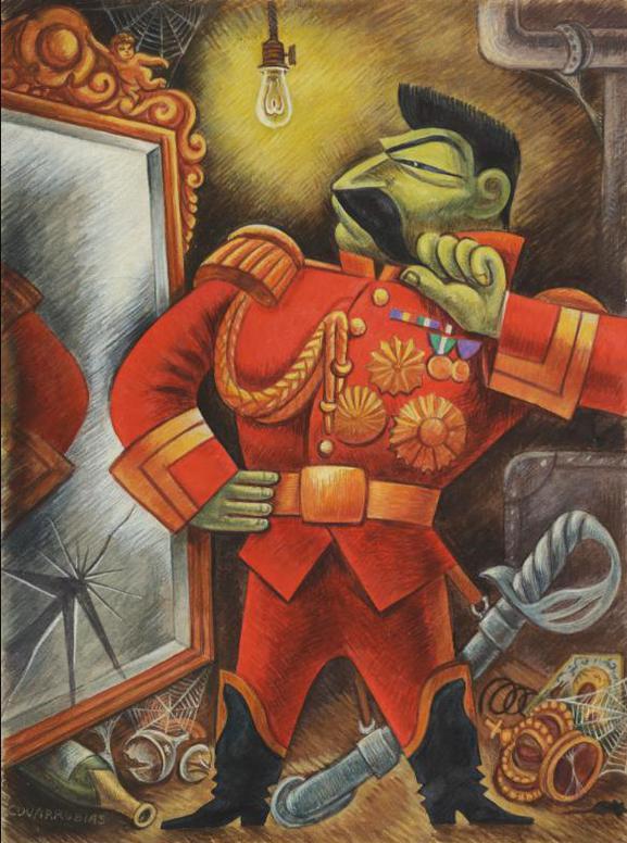 Miguel Covarrubias-Josef Stalin-