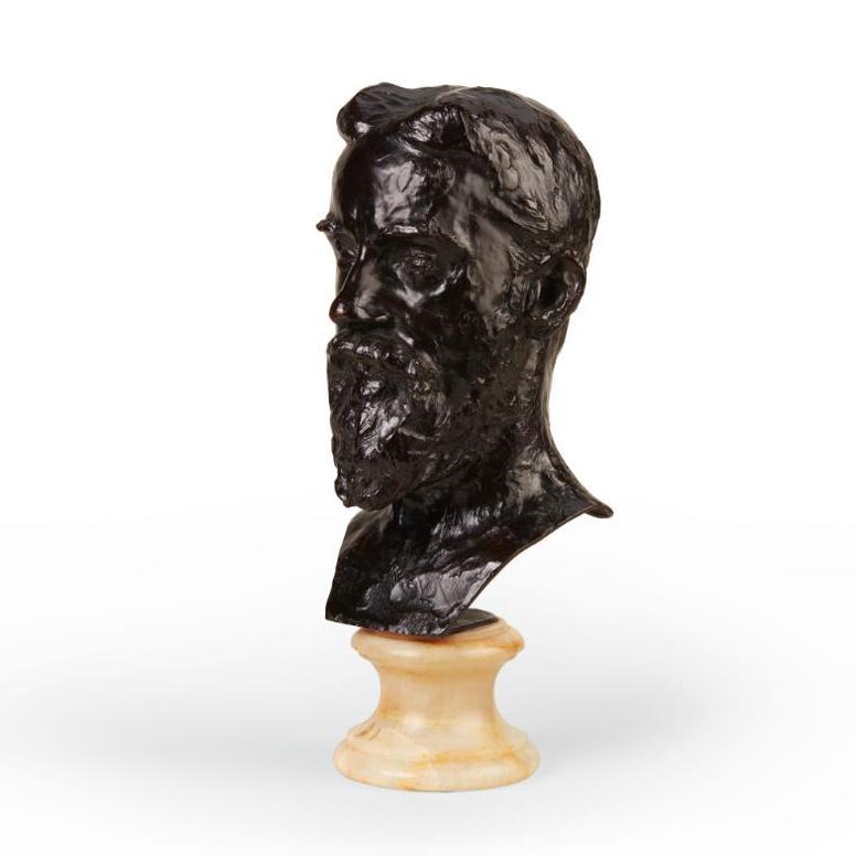 Auguste Rodin-George Bernard Shaw-1906