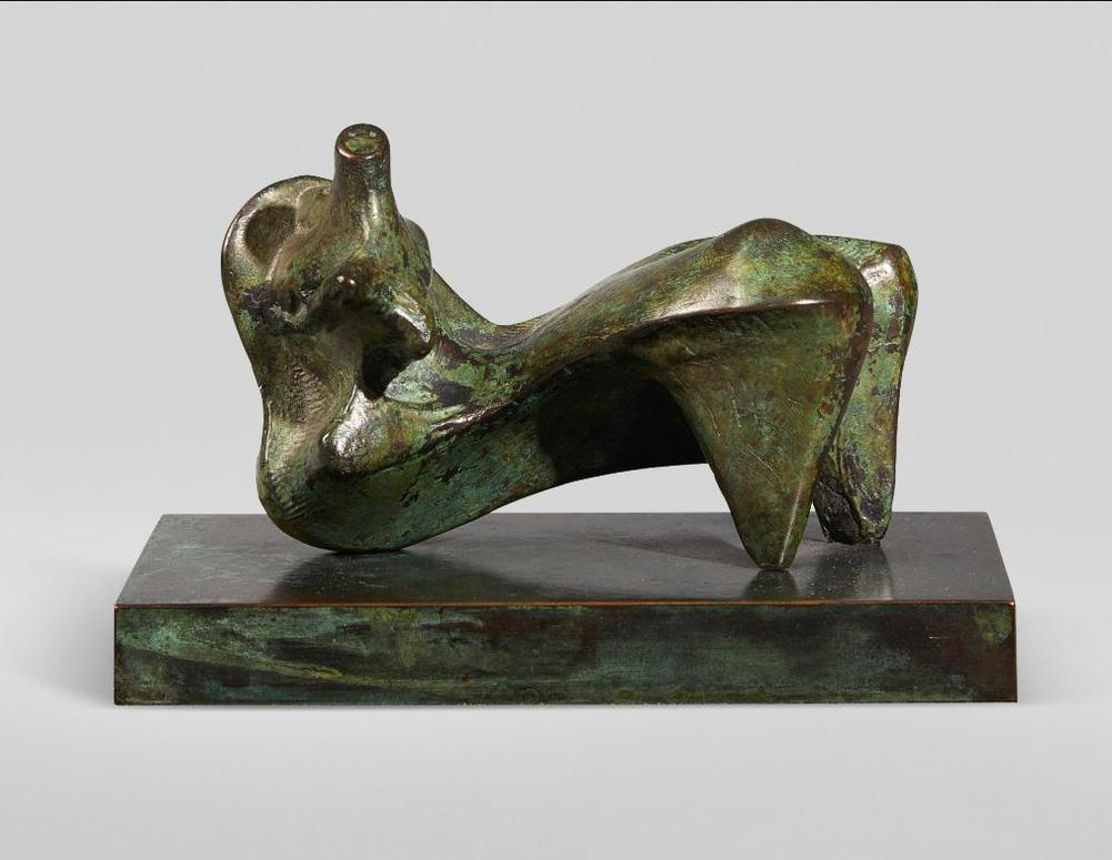 Henry Moore-Reclining Figure: Points-1969