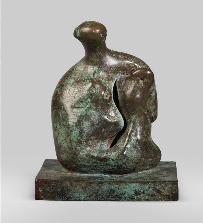 Henry Moore-Mother And Child: Arm-1979