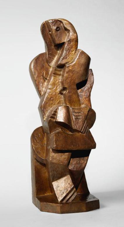 Jacques Lipchitz-La Liseuse II-1919