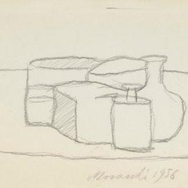 Giorgio Morandi-Natura Morta (Still Life)-1956
