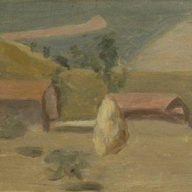 Giorgio Morandi-Paesaggio (Landscape)-1943