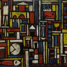 Joaquin Torres-Garcia-Constructivo A Cinco Tonos-1943