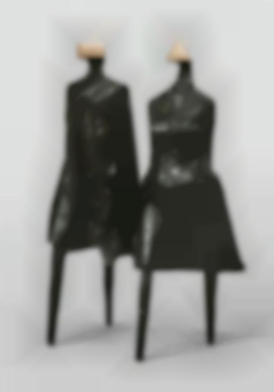 Lynn Chadwick-Walking Couple III-1987
