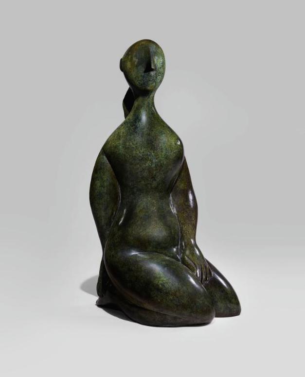 Baltasar Lobo-Jeune Fille A Genoux-1968