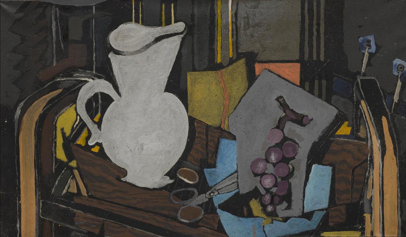Georges Braque-Le Pot Blanc-1943