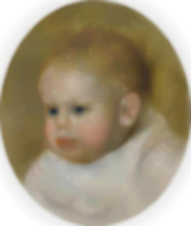 Pierre-Auguste Renoir-Jean Renoir En Medaillon-1895