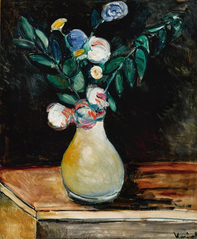 Maurice de Vlaminck-Vase De Fleurs-1908