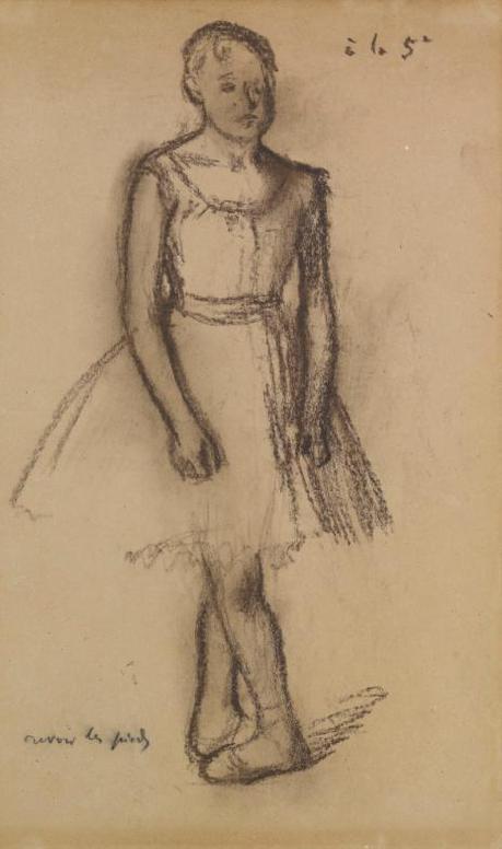 Edgar Degas-Danseuse En Cinquieme Position-1885