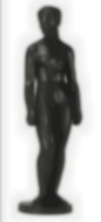Charles Despiau - Suzanne Au Chignon Haut-1922