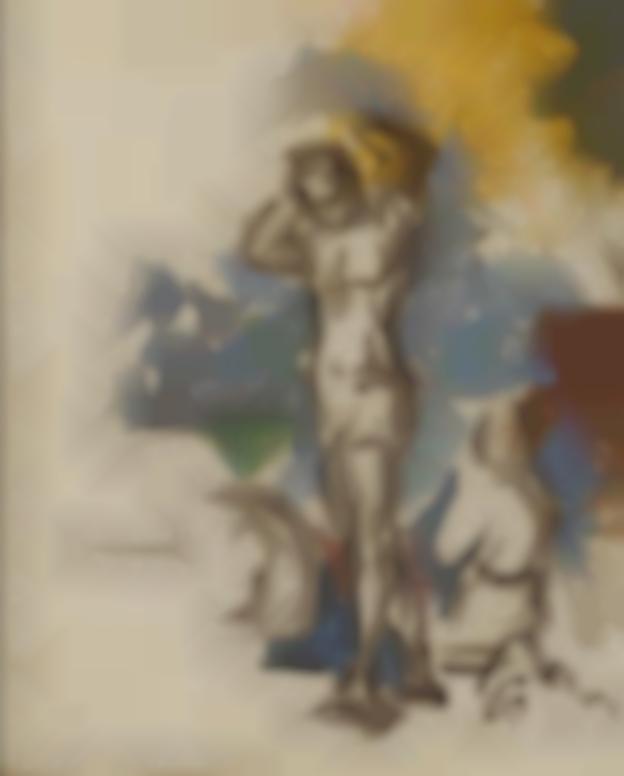 Paul Cezanne-Baigneurs-1900
