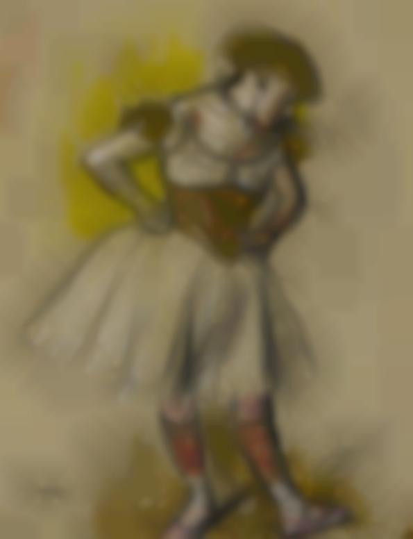 Edgar Degas-Danseuse-1880