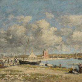 Eugene Louis Boudin-Camaret-1870