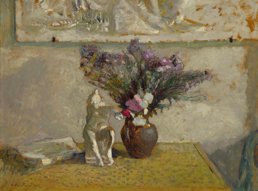 Edouard Vuillard-Nature Morte Avec Leda-1902