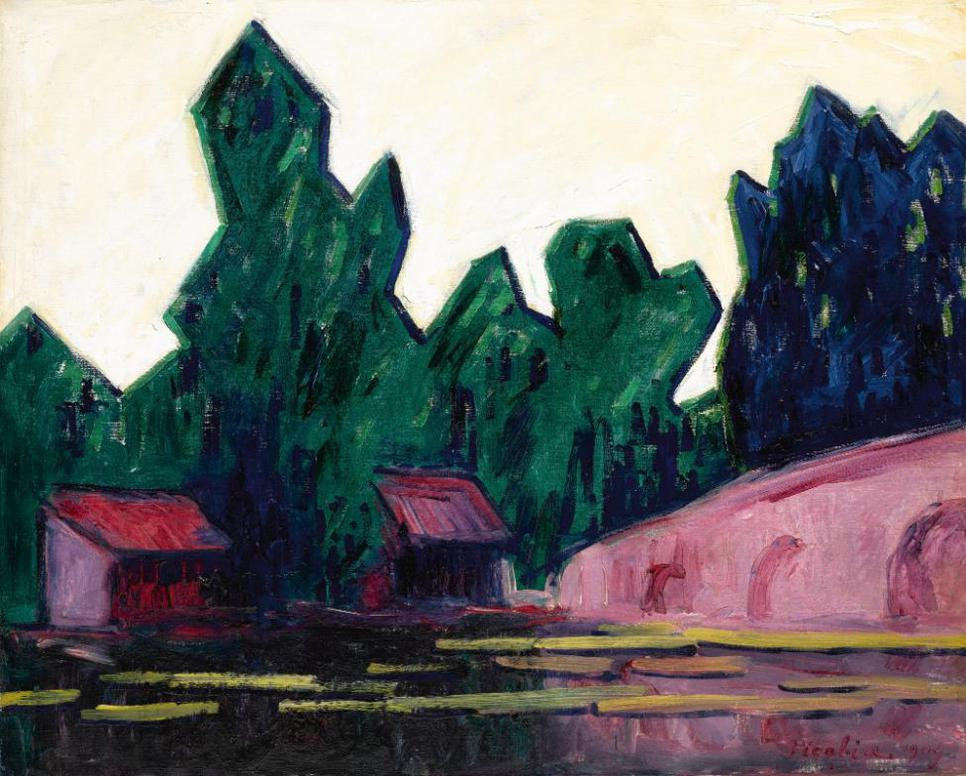 Francis Picabia-Paysage-1909