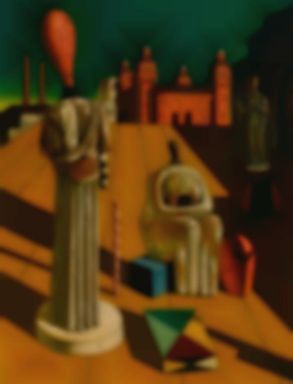Giorgio de Chirico-Le Muse Inquietanti-1955
