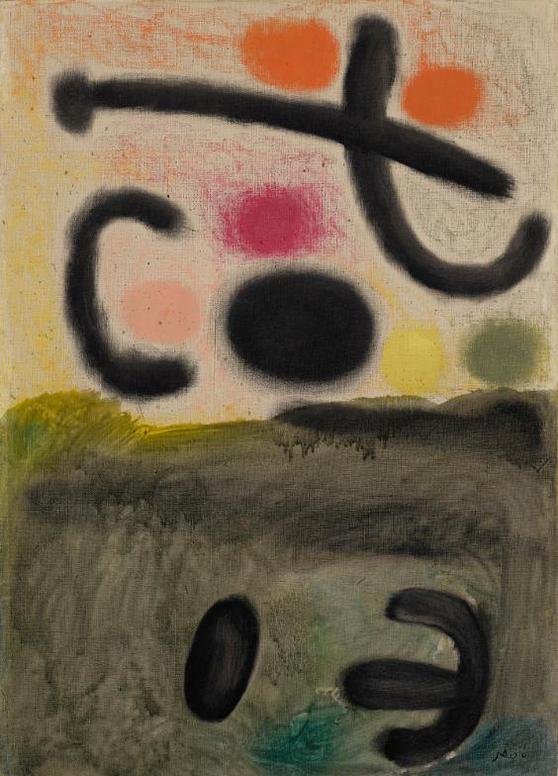 Joan Miro-Hommage A Edgar Varese Ii-1959