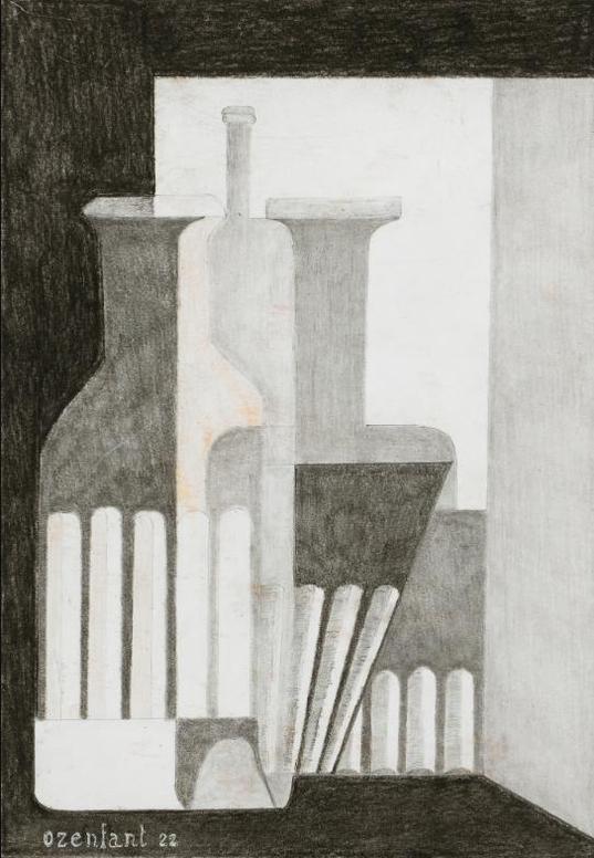 Amedee Ozenfant-Nature Morte Puriste—Verrerie-1922
