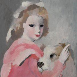 Marie Laurencin-Femme Au Caniche