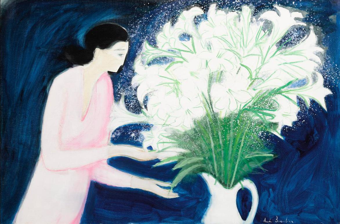 Andre Brasilier-Bouquet De Lys-1988
