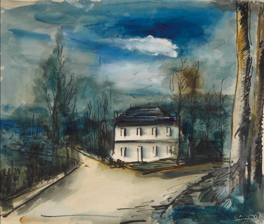 Maurice de Vlaminck-Maison-