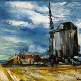 Maurice de Vlaminck-Le Moulin A Vent