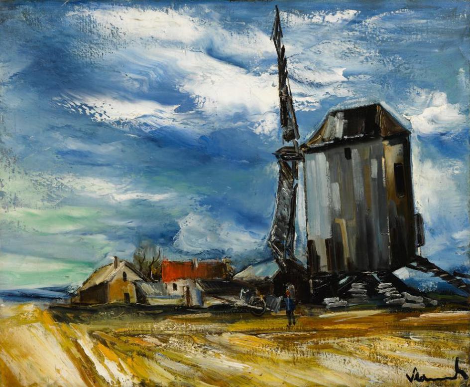 Maurice de Vlaminck-Le Moulin A Vent-