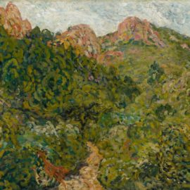 Louis Valtat-Paysage Du Midi-1904