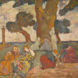 Louis Valtat-Les Chenes De Dodone-1893