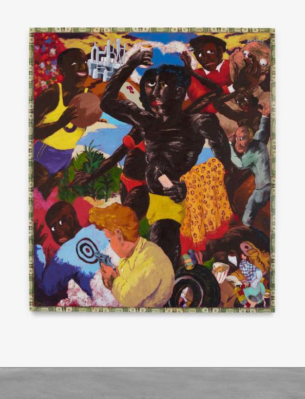 Robert Colescott-Garden Spot-1989