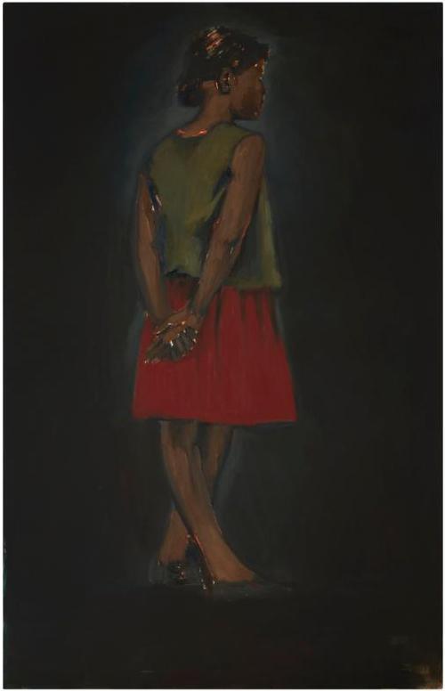 Lynette Yiadom-Boakye-No Words Of Gratitude-2012
