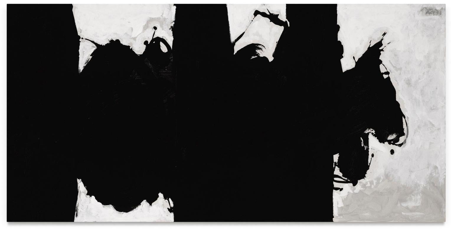 Robert Motherwell-Elegy Study No. Xiii-1979