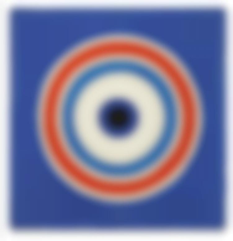 Kenneth Noland-Blue-1960