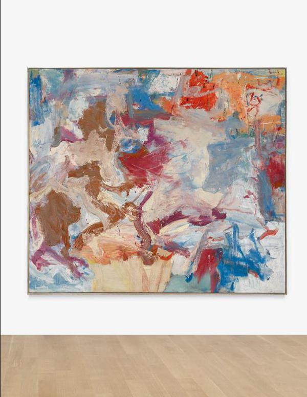 Willem de Kooning-Untitled X-1975