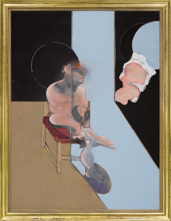 Francis Bacon-Study For Portrait-1981