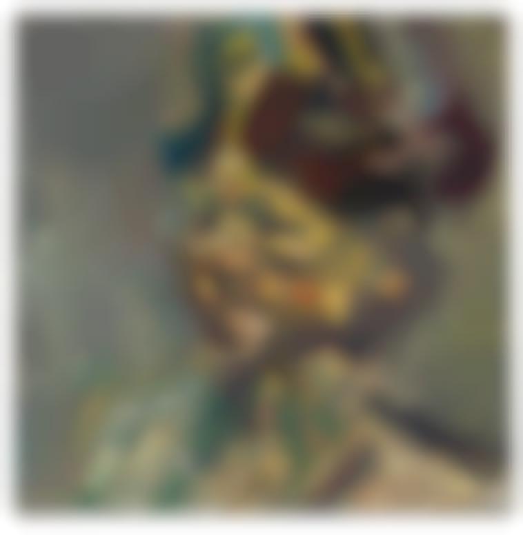 Frank Auerbach-Head Of Julia-1985