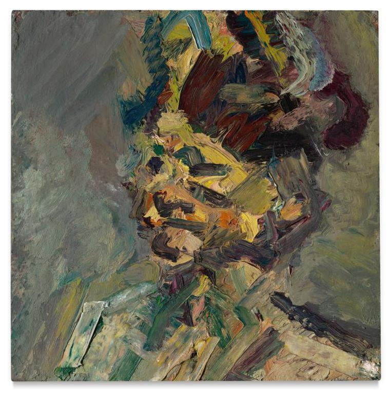 Frank Auerbach-Head Of Julia-1985